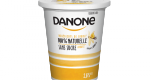 Coupon de 1$ à l'achat d'un pot de 650g de Danone Naturel