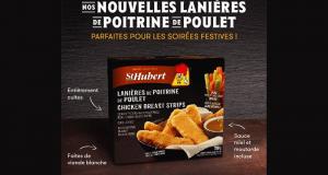 Coupon de 2$ à l'achat de lanières de poitrine de poulet St-Hubert