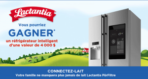 Un réfrigérateur intelligent d'une valeur de 4000$