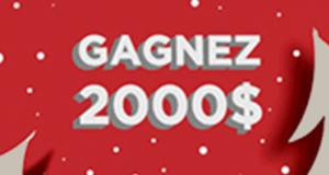 Chèque de deux mille (2000) dollars canadiens ($ CAD)