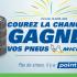 Un ensemble de 4 pneus d'été Michelin (Valeur de 1000 $)