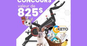 Vélo stationnaire GYMNETIC MX3 + un ensemble de chocolats Kétolat