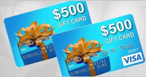 Carte-cadeau Visa de 500 $ et des produits Durex