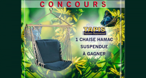 Chaise hamac suspendue