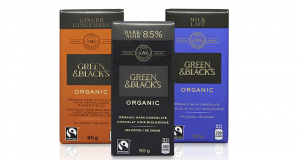 Coupon de 1$ sur des bars de chocolat Green & Black's