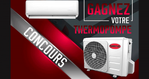 Gagnez une thermopompe Direct Air de 12000 BTU avec installation