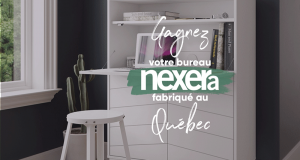 Gagnez votre Meuble de bureau Nexera avec rangement