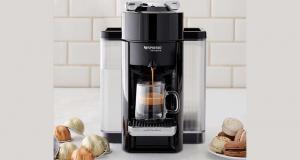 Une cafetière Nespresso d'une valeur de 249$