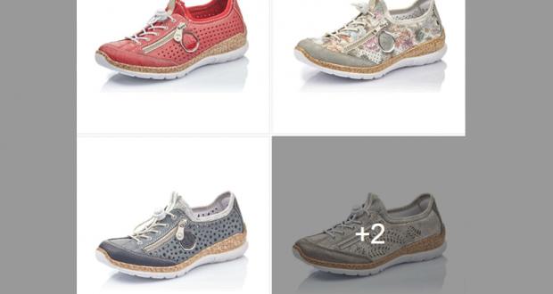 Une paire de chaussures Rieker