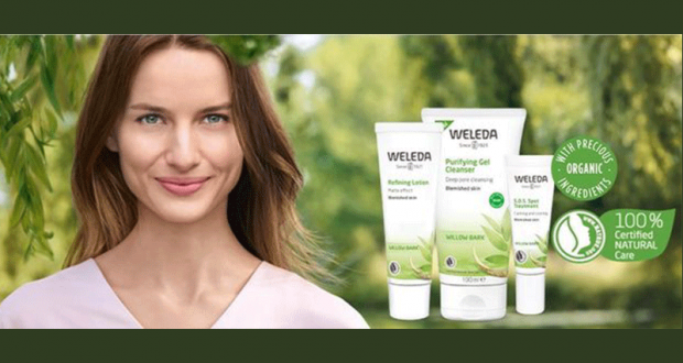 Échantillons gratuits des soins de la peau Weleda