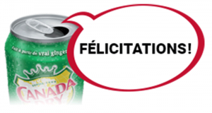 2000 coupons Canada Dry gratuits