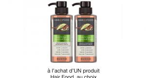 Coupon de 1$ à l'achat d'UN produit Hair Food au choix