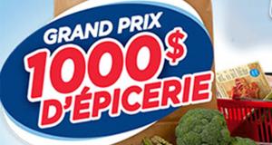 Gagnez 1 des 12 prix de 1000$ d'épicerie chez Metro