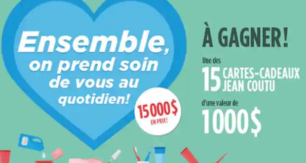 Gagnez 15 cartes cadeaux Jean Coutu d'une valeur de 1000 $