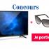 """Un Télévision 40"""" + lunette solaire ajustée à votre vue"""