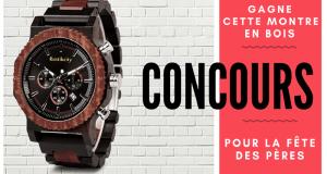 Une montre en bois offerte par Rustikcity