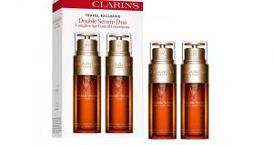 Échantillons gratuits du Double Serum de Clarins