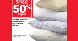 -50% Sur les oreillers chetez-en 1 obtenez-en 1