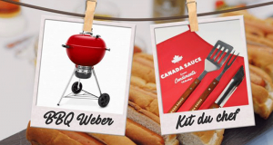 BBQ Kettle Weber Grills 22 pouces + Trio d'ustensiles