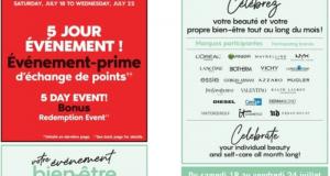 Circulaire Pharmaprix du 18 juillet au 24 juillet 2020