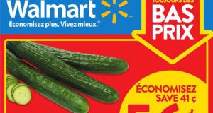 Circulaire Walmart du 9 juillet au 15 juillet 2020