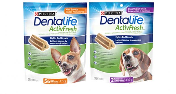 Coupon de 1.50$ à l'achat d'un produit DentaLife ActivFresh
