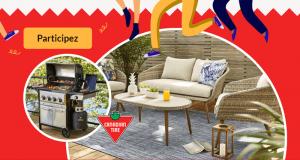 Gagnez 2 Ensembles de patio et barbecue de 3000$ chacun