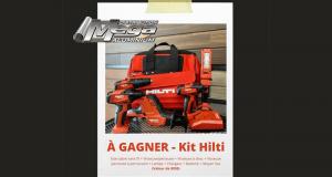 Gagnez un Ensemble d'outils Hilti (Valeur de 800$)