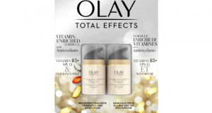 Rabais de 9$ sur Pack de 2 Lotions hydratantes Total Effects d'Olay