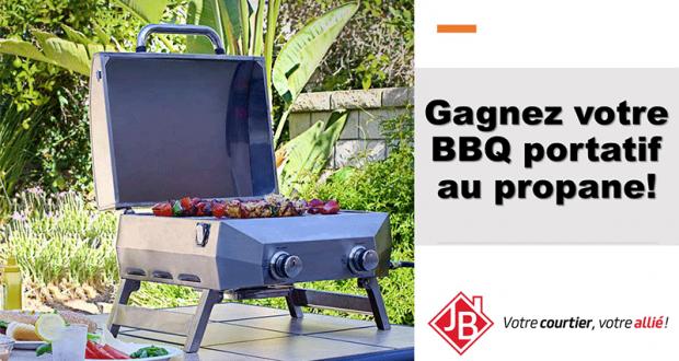 Un Barbecue portatif au propane