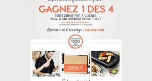 Un gril intérieur Thinkkitchen 2020 + 4 boîtes Cook it