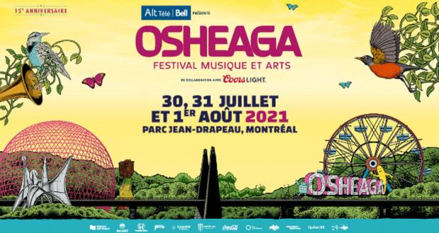 Une expérience weekend VIP pour OSHEAGA 2021