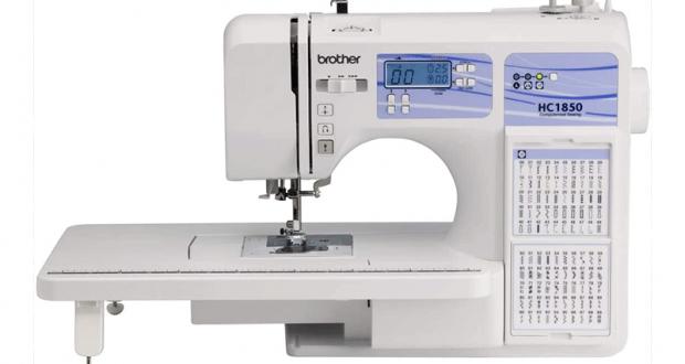 Une nouvelle machine à coudre Brother HC 1850