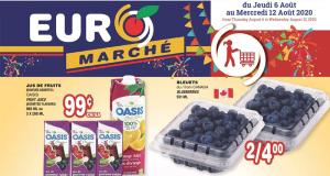 Circulaire Euromarché du 6 août au 12 août 2020