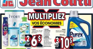 Circulaire Jean Coutu du 20 août au 26 août 2020