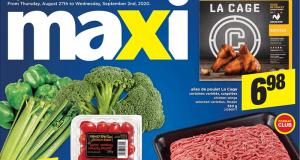 Circulaire Maxi du 27 août au 2 septembre 2020