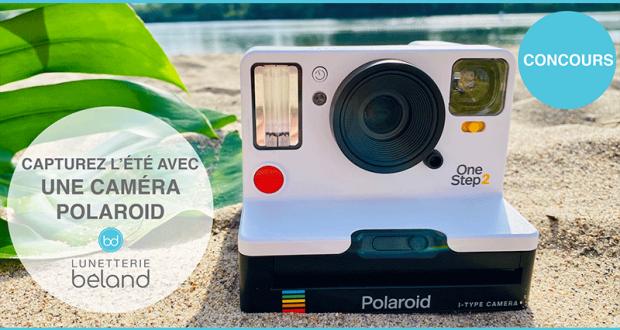 Deux caméras Polaroid offertes par Lunetterie Béland