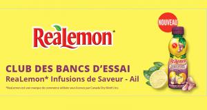 Infusions de saveur ReaLemon à tester