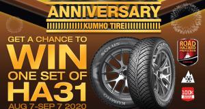 Un Ensemble de pneus KUMHO TIRE de 1 000 $