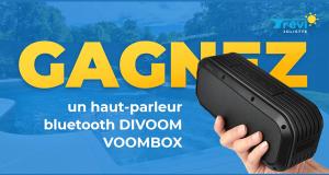 Un haut-parleur Bluetooth DIVOOM VOOMBOX noir