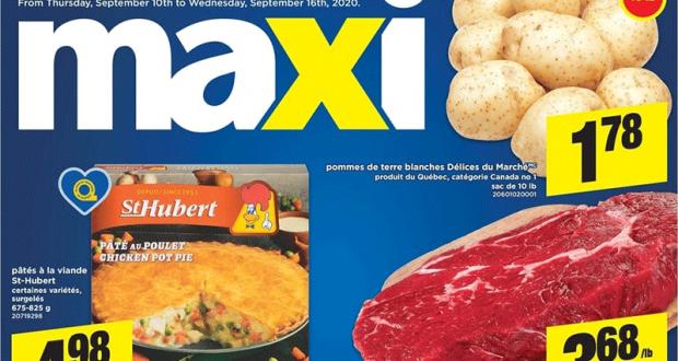 Circulaire Maxi du 10 septembre au 16 septembre 2020