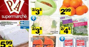 Circulaire Supermarché PA du 7 septembre au 13 septembre 2020
