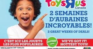 Circulaire Toys R Us du 17 septembre au 30 septembre 2020