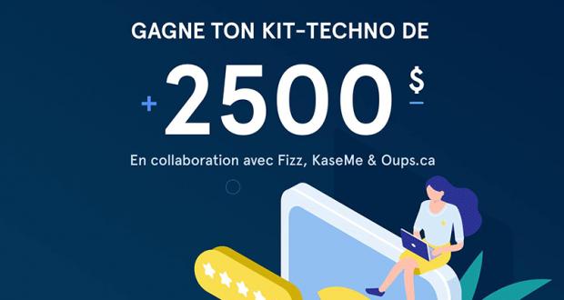 Gagne ton kit techno d'une Valeur de + 2500$