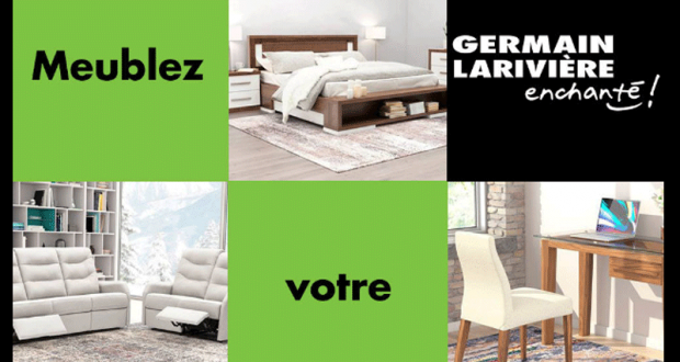 Gagnez 3000$ chez Germain Larivière