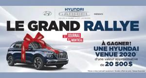 Gagnez Une voiture Hyundai Venue Essential 2020 de 20500$