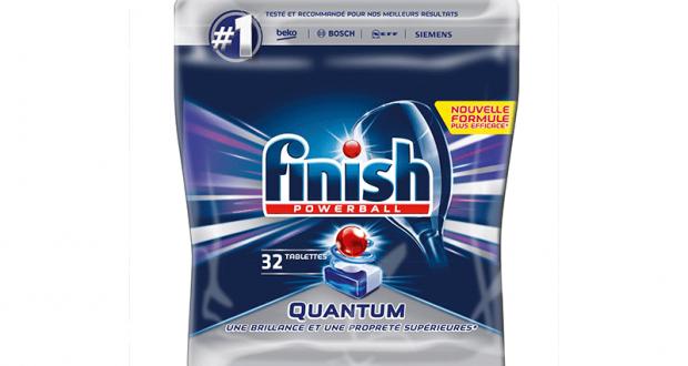 Rabais de 7$ sur Pastilles de détergent pour lave-vaisselle Finish Quantum