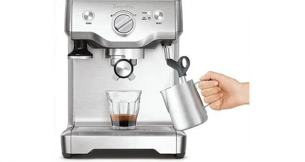 Gagnez une machine à espresso à pompe Duo-Temps Pro de Breville