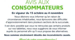 Circulaire Familiprix du 15 octobre au 4 novembre 2020