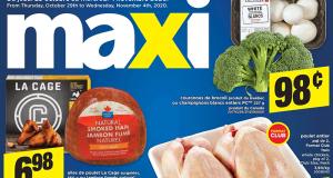 Circulaire Maxi du 29 octobre au 4 novembre 2020